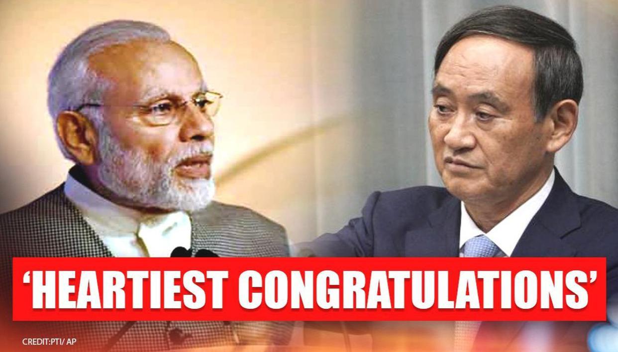 PM Modi congratulates Yoshihide Suga on his appointment as Japan's new prime minister - Republic World
