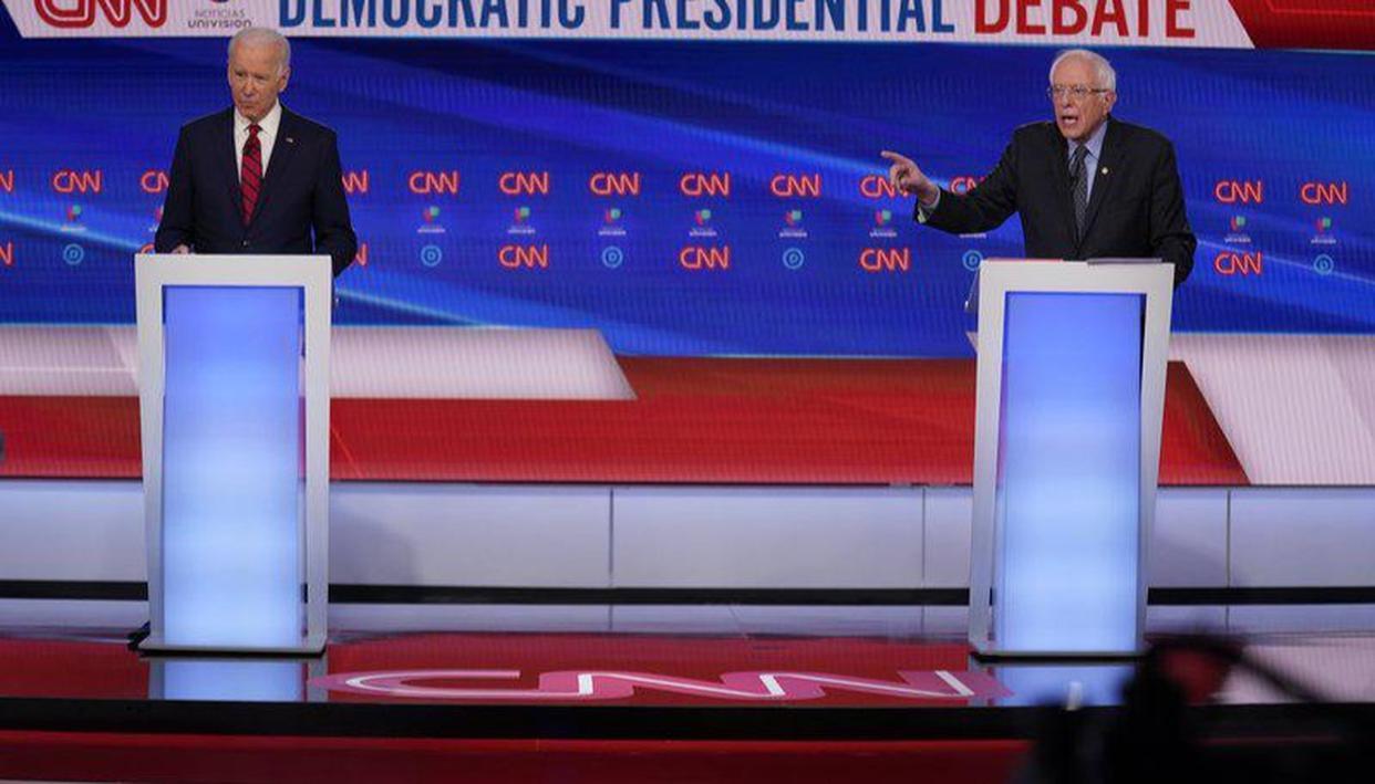 Joe Biden Updates Presidential Promises Ahead of One-on-One Debate With Bernie Sanders