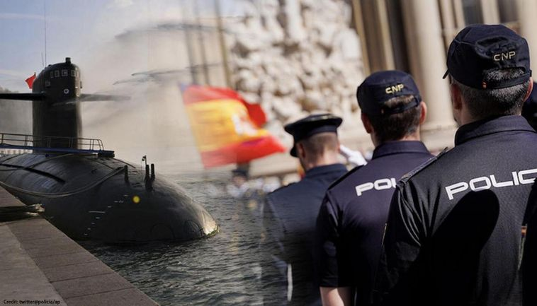 Spain's first homemade semi-submarine seized, can carry ...