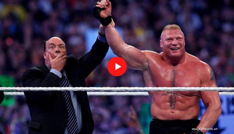 Brock Lesnar, John Cena and Seth Rollins