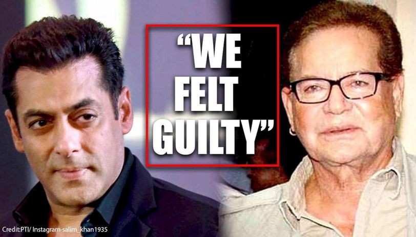 Salim Khan opens up about Salman's jail time, claims he felt 'guilty' to even drink water