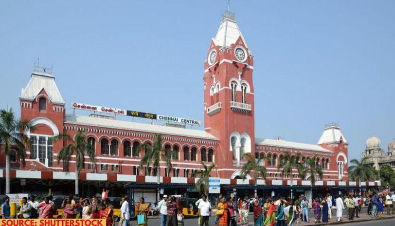delhi to chennai train route