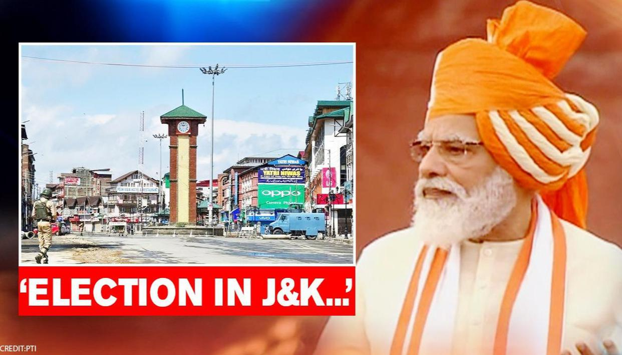 PM Modi eyes electoral return for J&K; says 'delimitation ongoing; let there be MLAs, CM' - Republic World