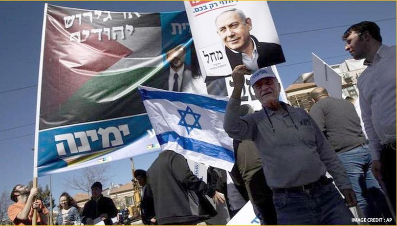 Israeli PM says immediate annexation of west bank if reelected in polls