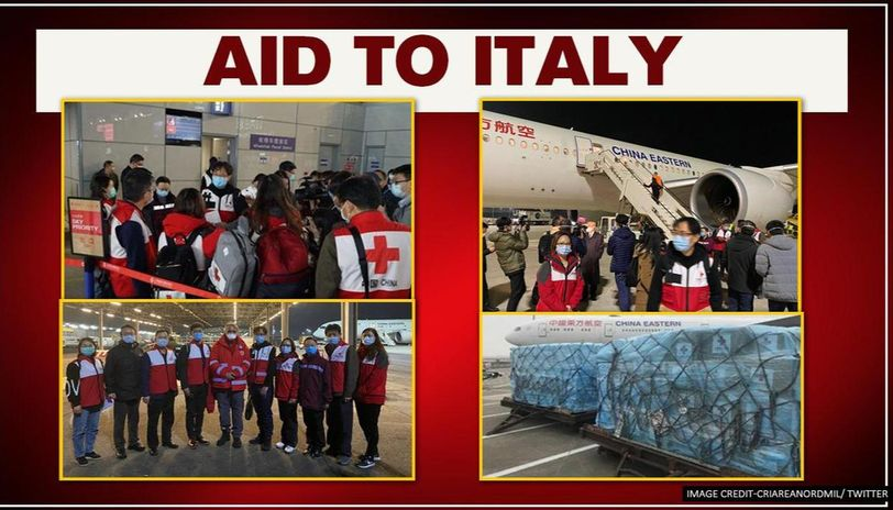 China sends experts and medical supplies to Italy