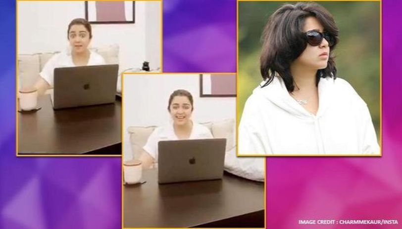 Charmme Kaur gets flak for 'coronavirus has arrived' act, calls it 'immaturity' in apology