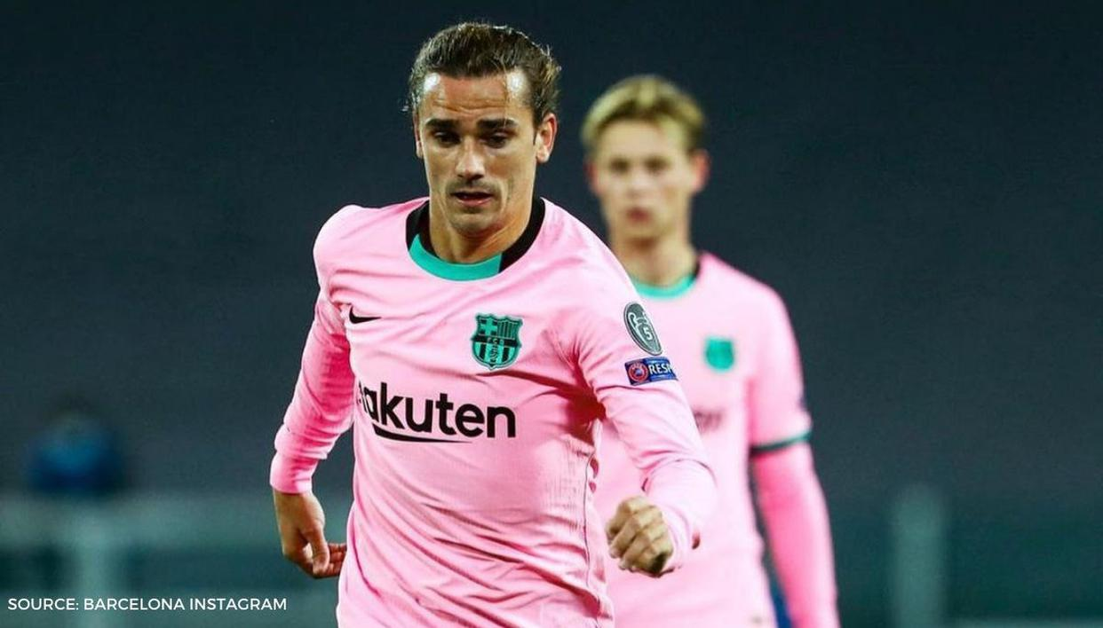 griezmann draws flak from barcelona fans after missing a sitter against dynamo kyiv sitter against dynamo kyiv