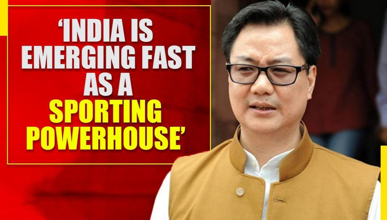 Kiren Rijiju, Minister of Sports sets top-10 Olympics medal-tally deadline for India - Republic World - Republic World