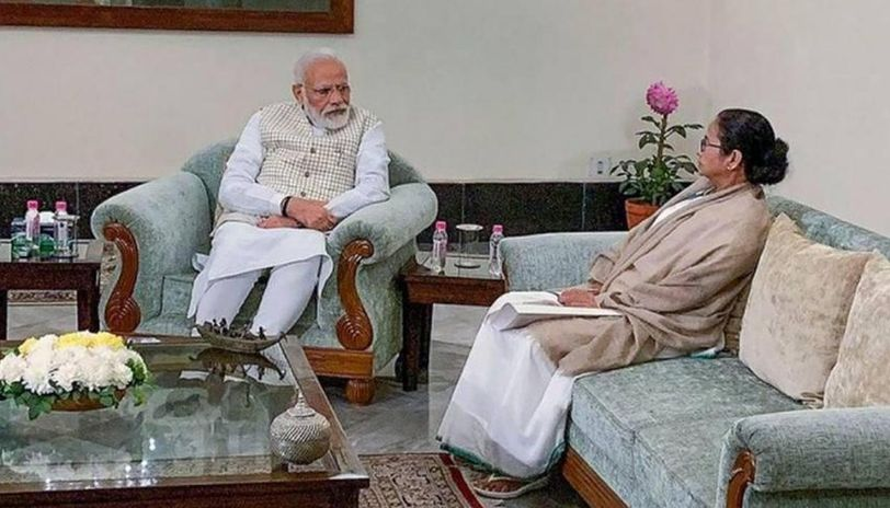 PM Modi and Mamata Banerjee