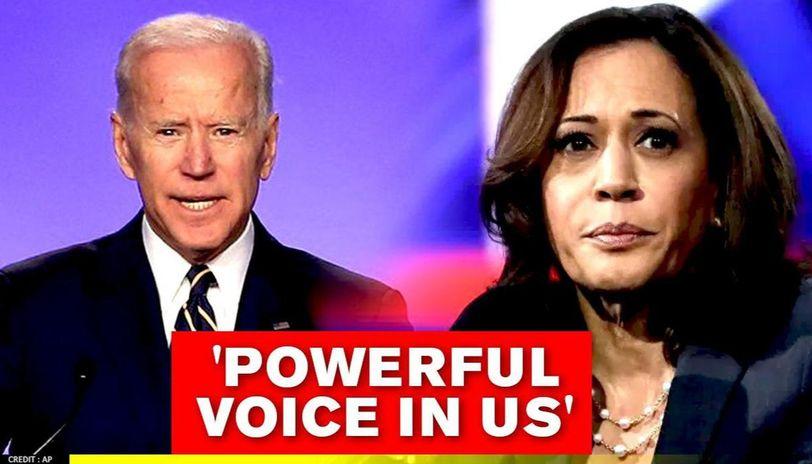Joe Biden Praises Running Mate Kamala Harris Says Her Story Is American Story
