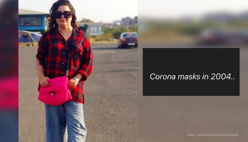 Farah Khan proud of own 'foresight' with 'coronavirus masks in 2004', see hilarious post