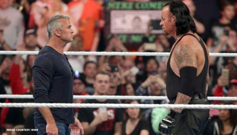 Shane McMahon and undertaker