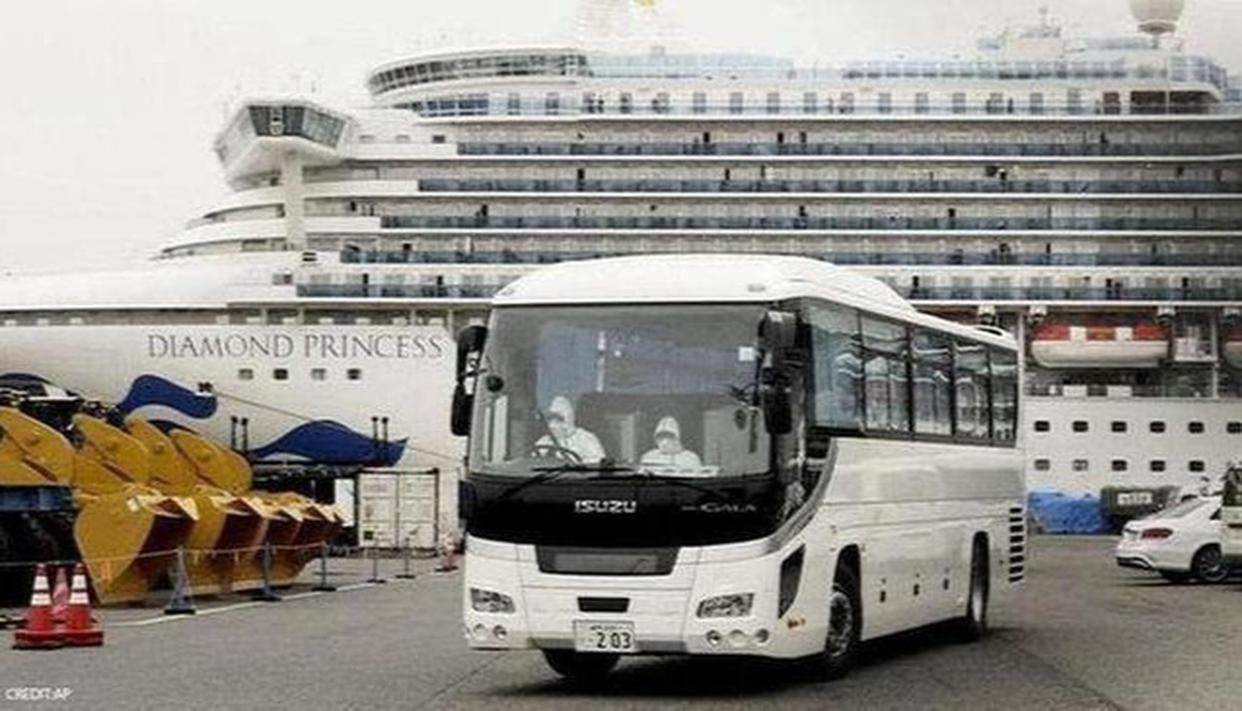Two More Indians Test Positive For Coronavirus On Japan Cruiseship