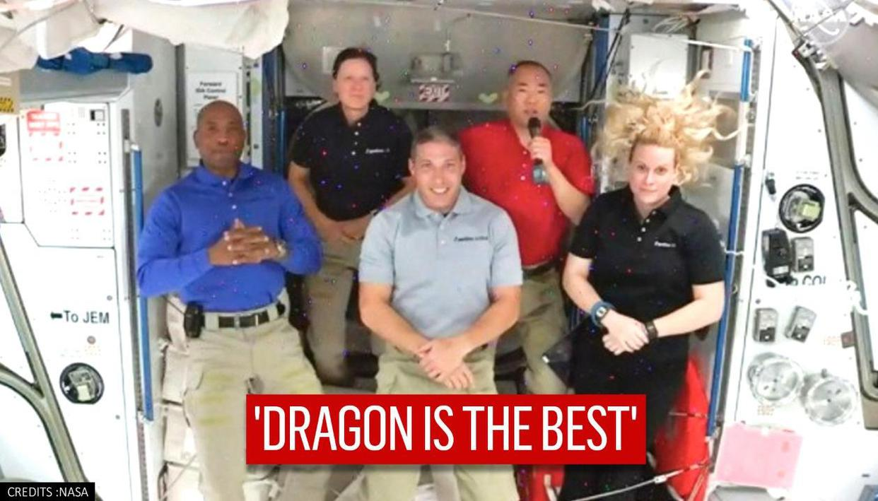SpaceX's Dragon is 'fun to ride', says Japanese astronaut who flew three Space Shuttles