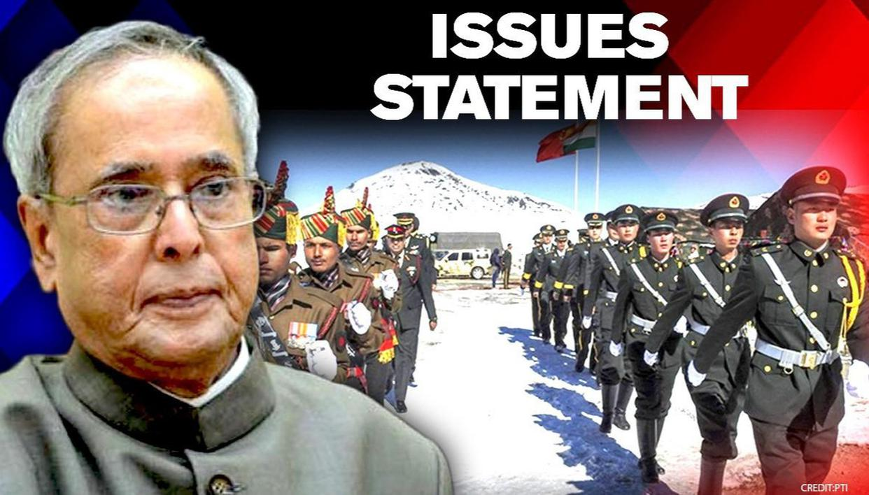 'Nation's conscience bruised': Pranab Mukherjee on India-China face-off at Galwan valley - Republic World