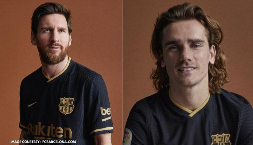 Barcelona Unveil New Away Kit A Week Before Crunch Champions League Clash Against Napoli