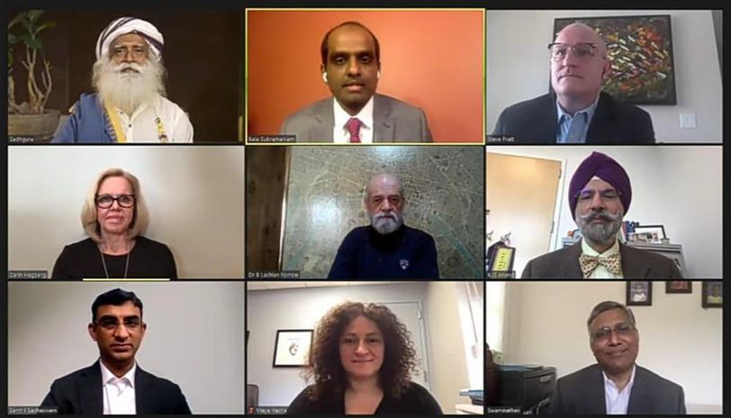 'Invest 15 Minutes A Day For Own Well-Being': Sadhguru interacts with US Doctors on COVID