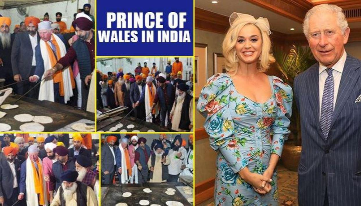 Prince of Wales poses with pop star Katy Perry, pays tribute to Sikh community in India - Republic World
