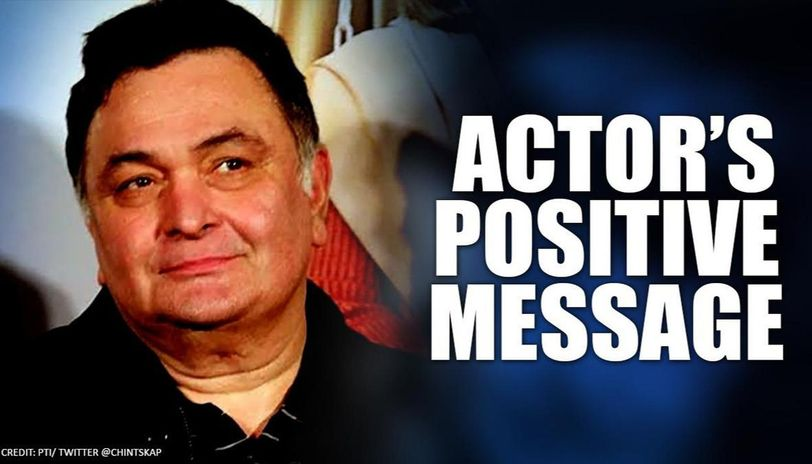 Rishi Kapoor message of positivity & hope amidst increase of COVID-19 cases is a must-read