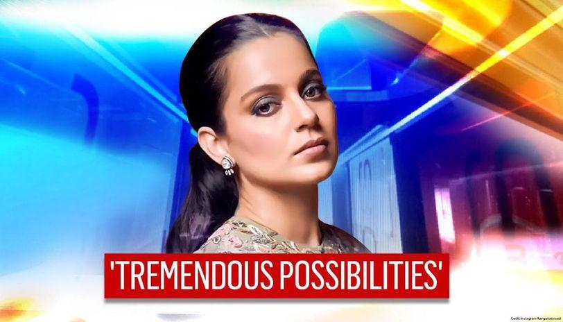 Kangana Ranaut urges people to 'enhancing energy system' while extending Navratri wisheska