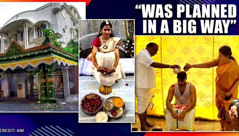 Nikhil Kumaraswamy's wedding rituals begin as former CM apologises for not inviting all