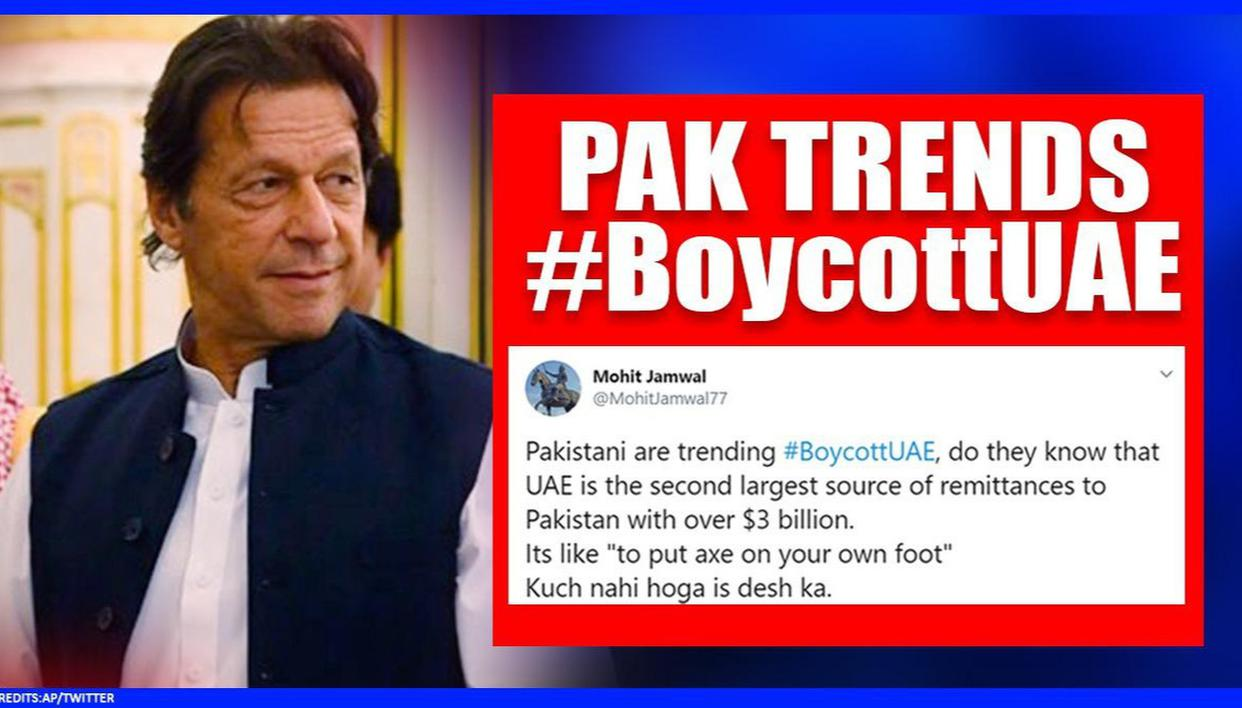 Pakistan Jumps To Trend 'Boycott UAE' After Turkish Account highlights Ties With India