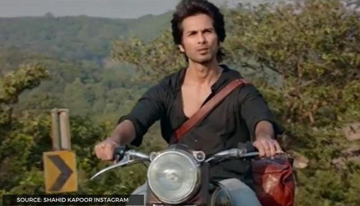Shahid Kapoor Spotted Riding His Iconic Royal Enfield In A Bts Video Watch