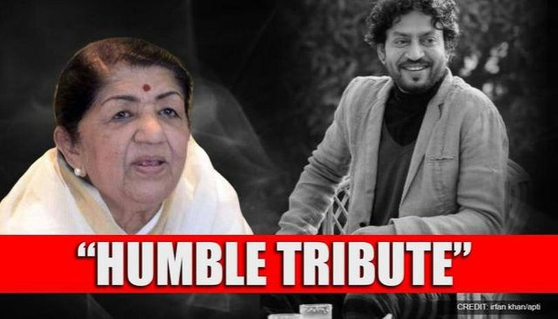Irrfan Khan passes away: Lata Mangeshkar mourns loss of National Award-winning actor