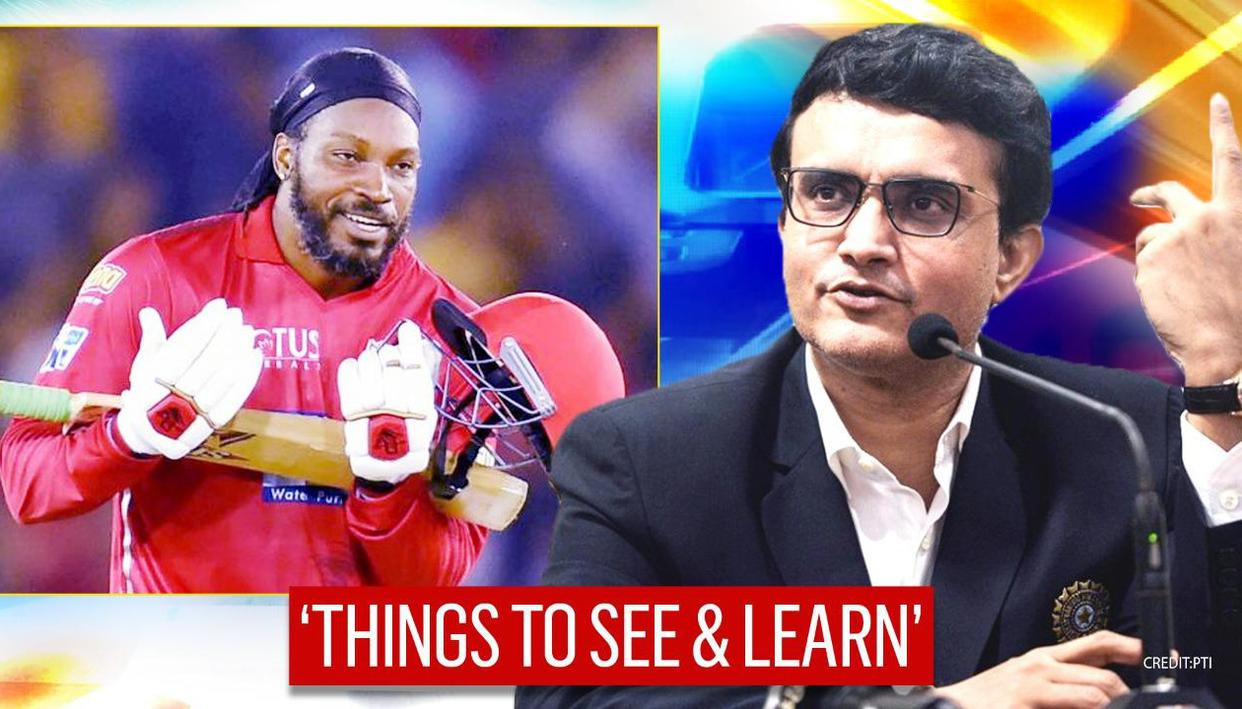 Sourav Ganguly lauds Chris Gayle's IPL comeback; says being sidelined 'pinched him' - Republic World