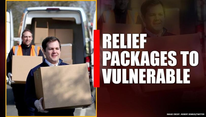 UK government along with NHS gives away 50,000 care packages amid coronavirus