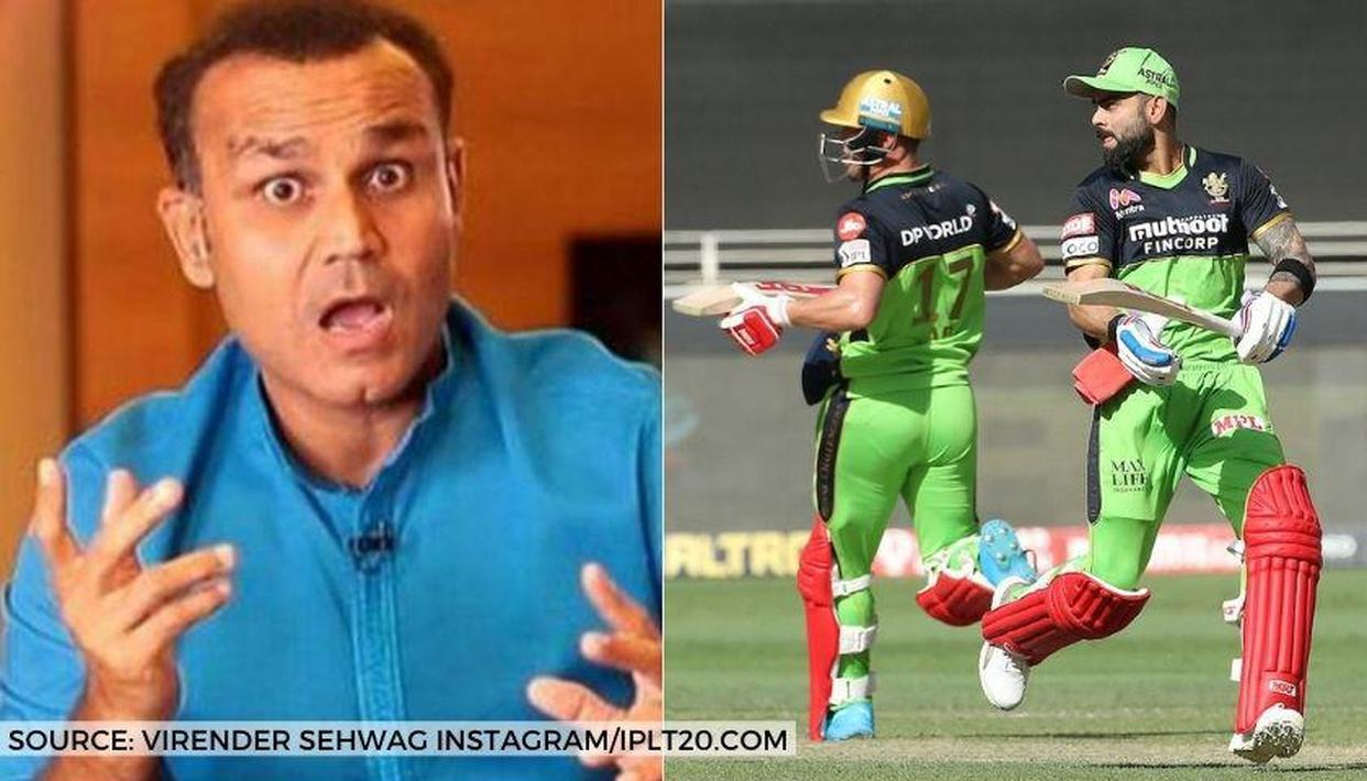 Virender Sehwag mocks Virat Kohli, AB de Villiers for low strike rates against Chennai - Republic World