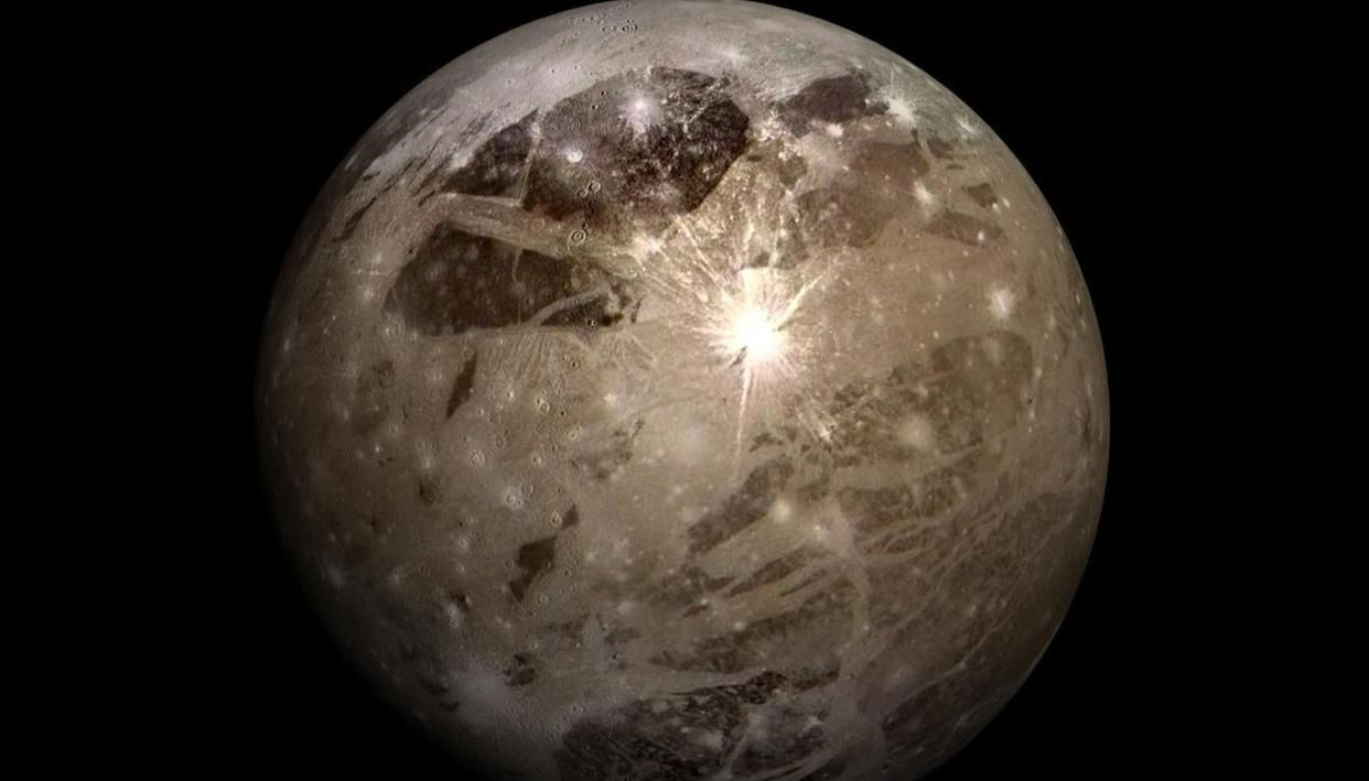 Jupiter's moon Ganymede may have the largest impact scars in the Solar System - Republic World