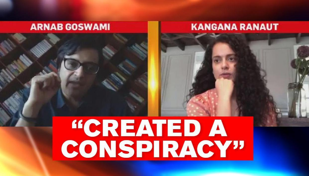 Kangana Ranaut speaks to Arnab, says top star wanted to jail me for knowing drugs truth - Republic World - Republic World