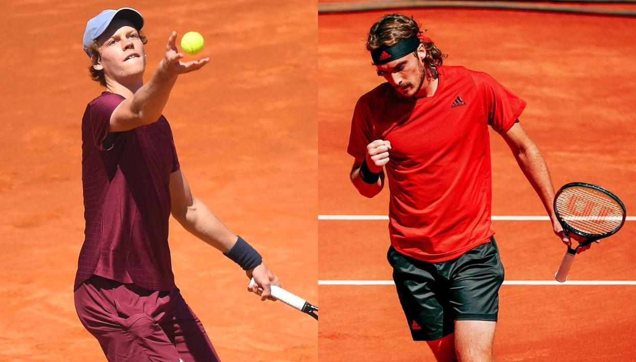 Barcelona Open 2021 semi-final Sinner vs Tsitsipas live stream, H2H and  match prediction