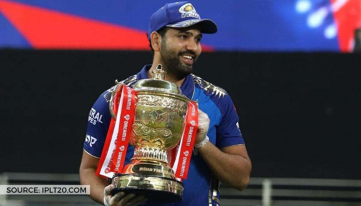 Rohit Sharma celebrates Dream11 IPL 2020 title win with adorable gesture; watch video