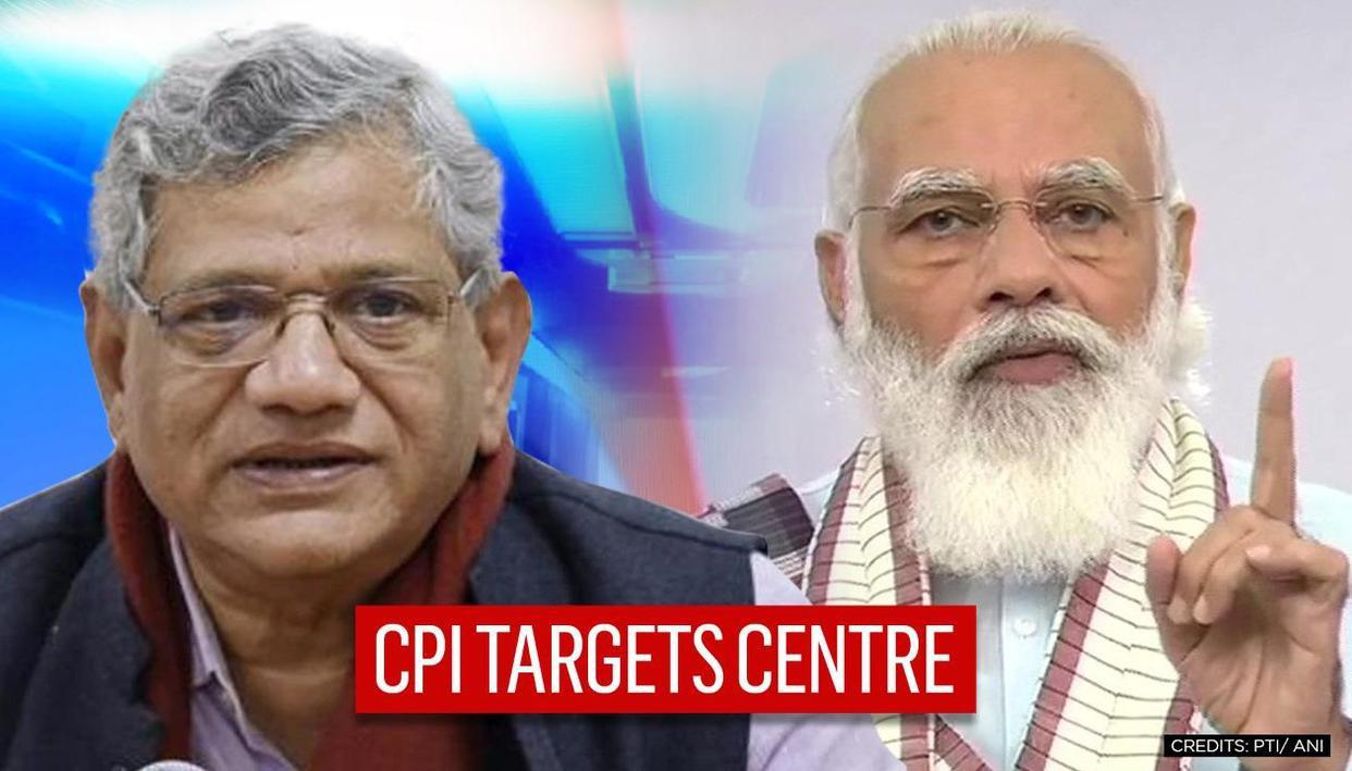 CPI's Sitaram Yechury targets Centre on COVID-19 response after PM Modi's address - Republic World