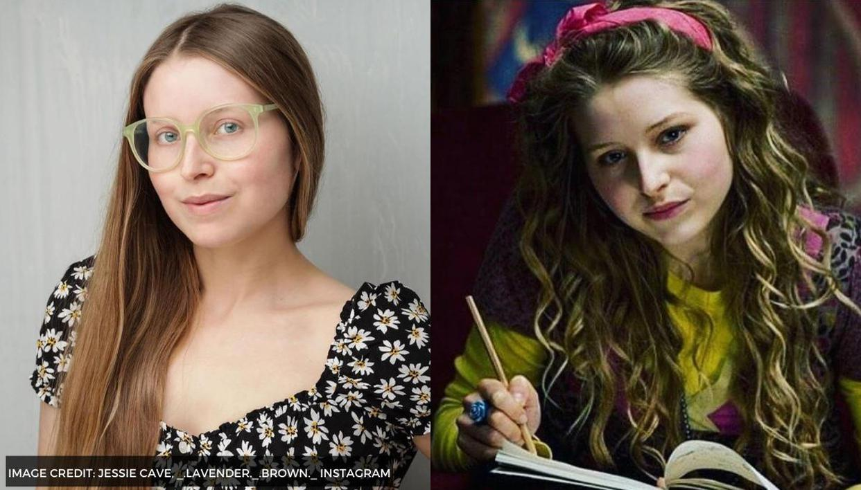 Harry Potter's Jessie Cave aka Lavender Brown says she was ...