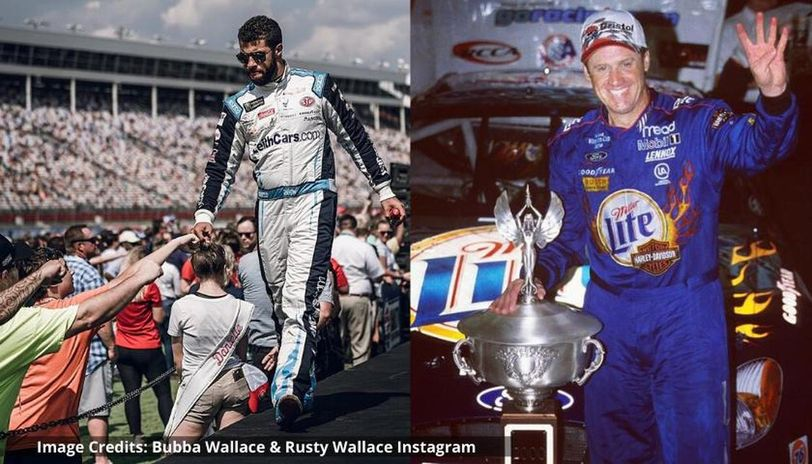 is bubba related to rusty wallace