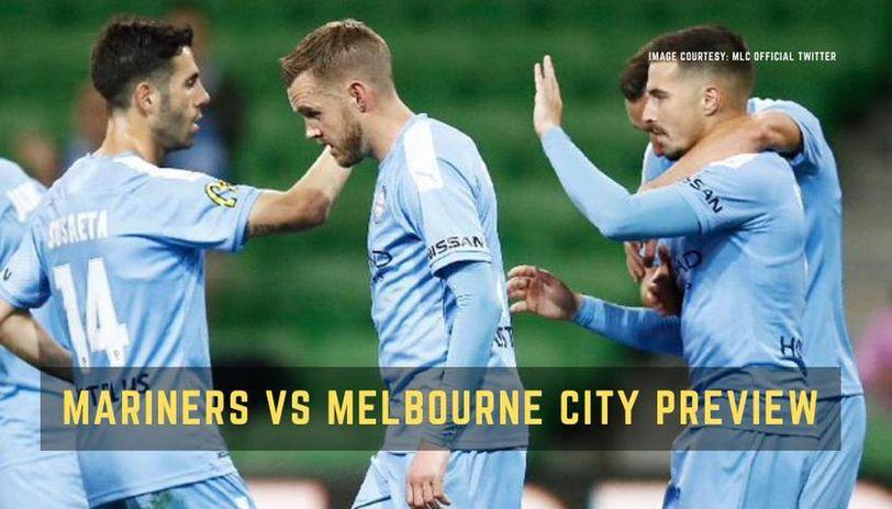Central Coast Mariners vs Melbourne City FC
