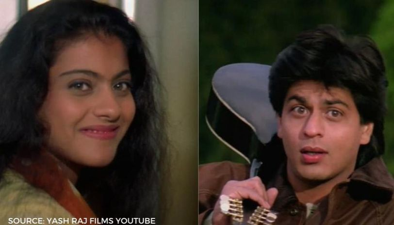 Dilwale Dulhania Le Jayenge S Palat Scene Was Copied From This