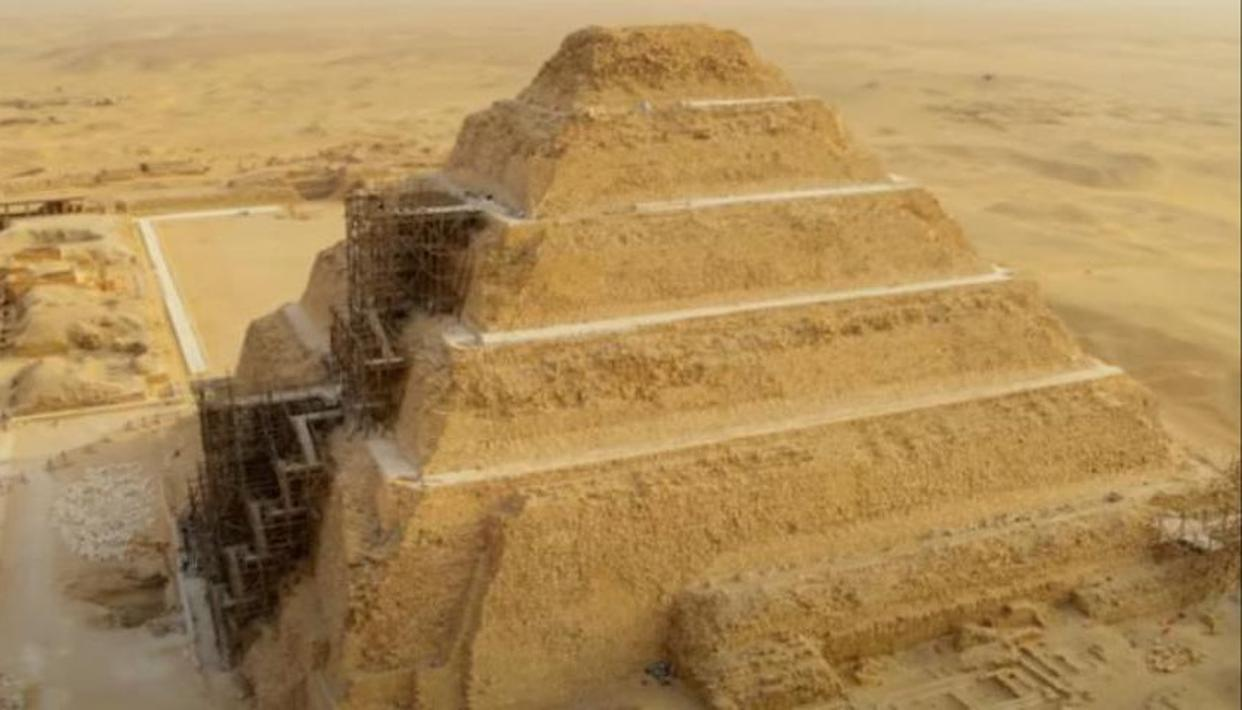 What time does Secrets of the Saqqara Tomb release on Netflix?