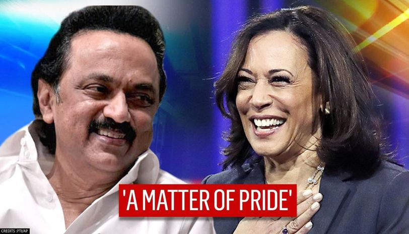 Stalin Pens Down Letter To Kamala Harris In Tamil Congratulates Her Over Her Victory
