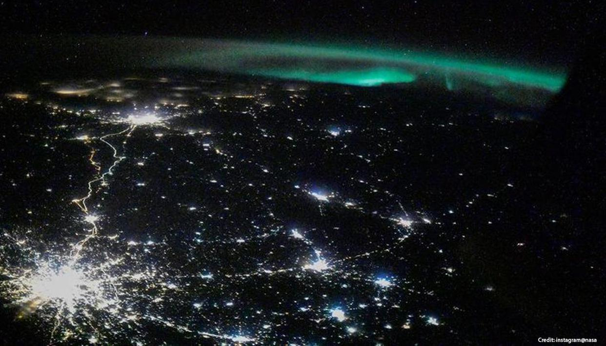 NASA shares amazing photo taken from space, netizens say 'like a star on the Earth'