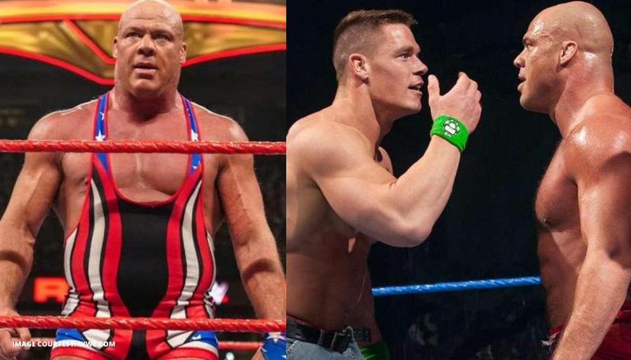 Kurt Angle reveals he wanted John Cena to retire him, but Vince McMahon rejected the idea - Republic World