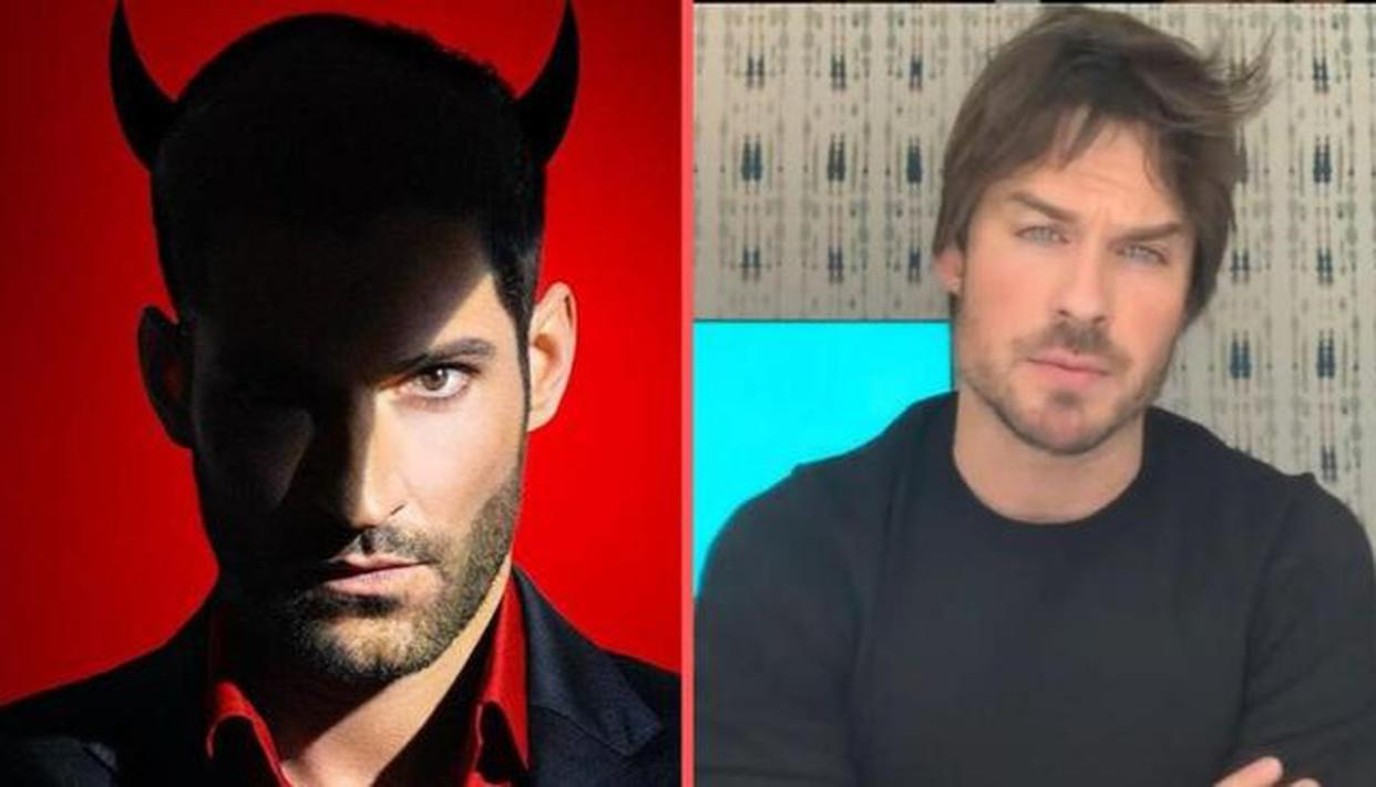 Tom Ellis Replaced For Lucifer Season 6 By Ian Somerhalder From The Vampire Diaries
