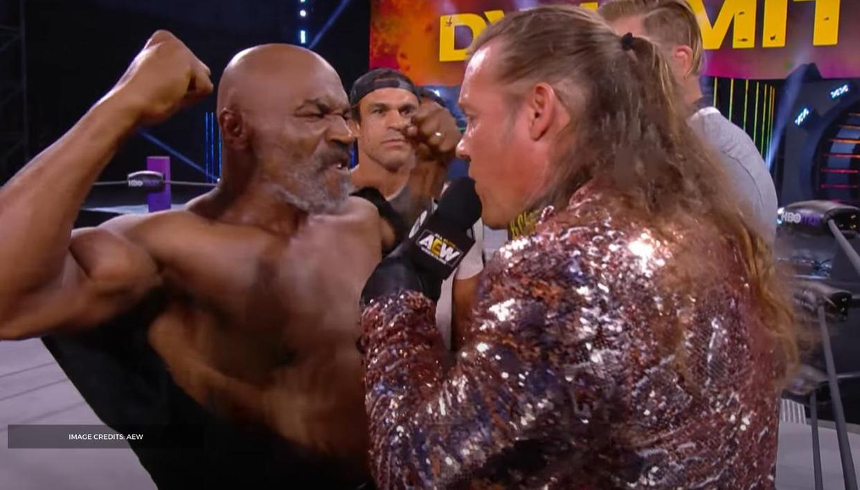 Mike Tyson issues stern warning to Chris Jericho after surprise brawl on AEW Dynamite - Republic World