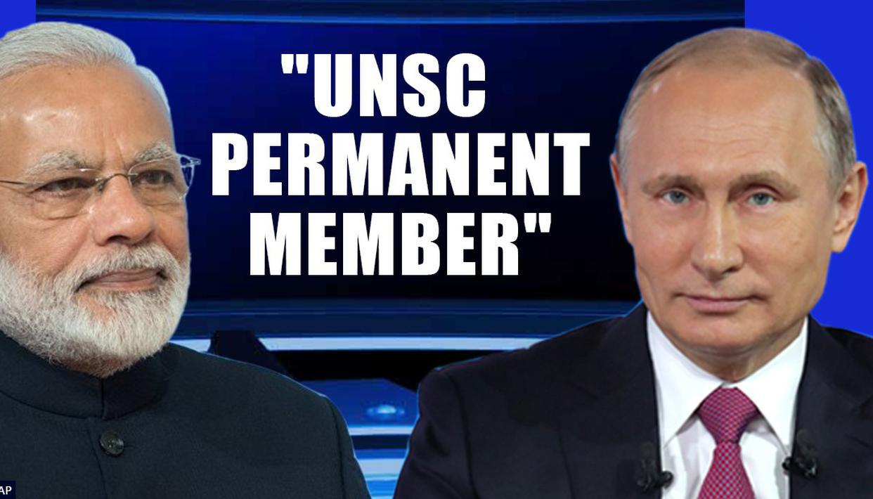 HUGE: Russia backs India for permanent UN Security Council seat; FM gives big endorsement - Republic World