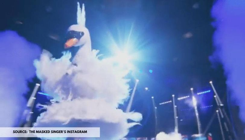 who is swan on masked singer