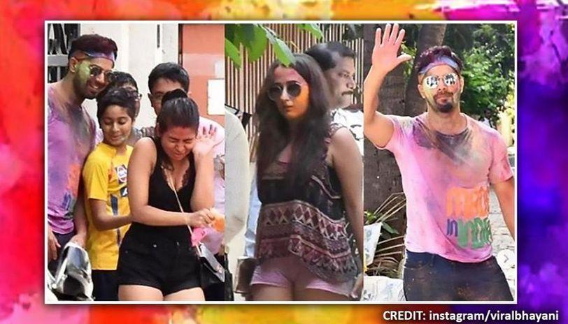 Holi: Varun Dhawan-Natasha Dalal attend celebration together; fans can't get enough of duo