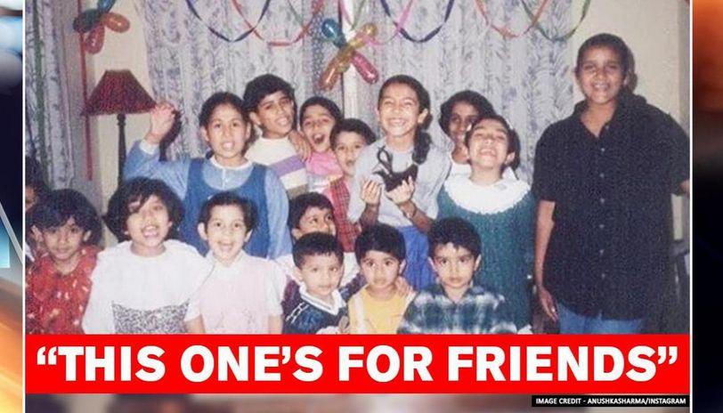 Anushka Sharma on Friendship's Day